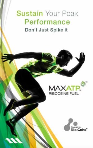 Sustain your peak performance with MaxATP powered by RiboCeine