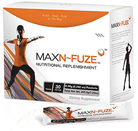 Max N-Fuze provides Advanced Cellular Defense against free radicals