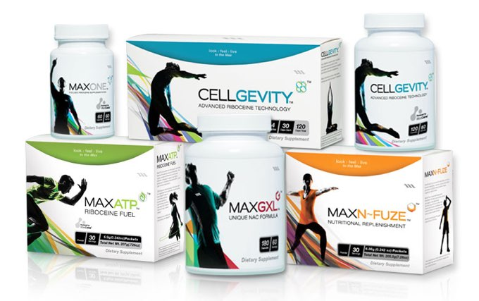 Glutathione enhancing Nutritional Supplements from Max International include Cellgevity MaxATP and MaxONE powered by RiboCeine buy here