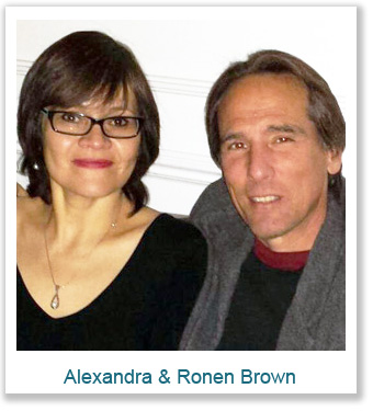 Alenandra and Ronen Brown Max International Associates Los Angeles California