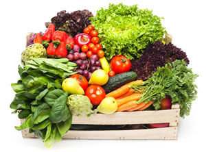 Healthy diet of fruit and vegetables helps boos glutathione levels
