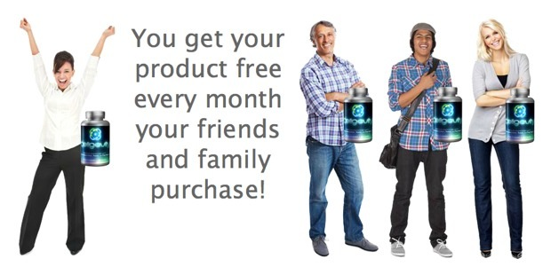 Get your favourite product for FREE every month with friends and family program