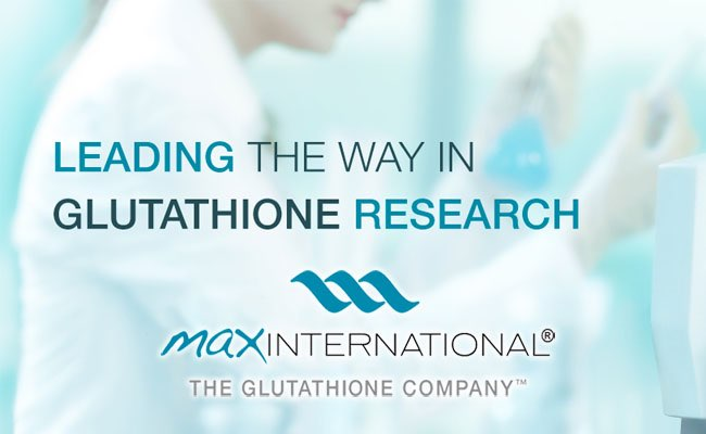 Max International is leading the Way in Glutathione research with its patented Riboceine technology