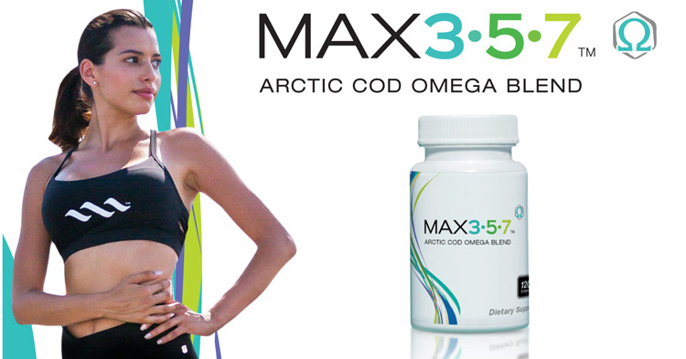 Max357 Arctic Cod Omega blend of essential fatty acids
