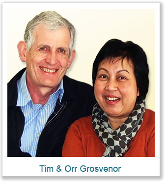Orr & Tim Grosvenor Max International Associates in Australia
