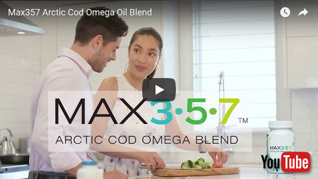 Youtube video An exclusive blend of essential Omega oils 3, 5 and 7 means more benefits for your body