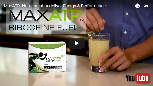 Youtube video MaxATP provides powerful nutrients that generate natural ATP energy to enable you to perform at your peak